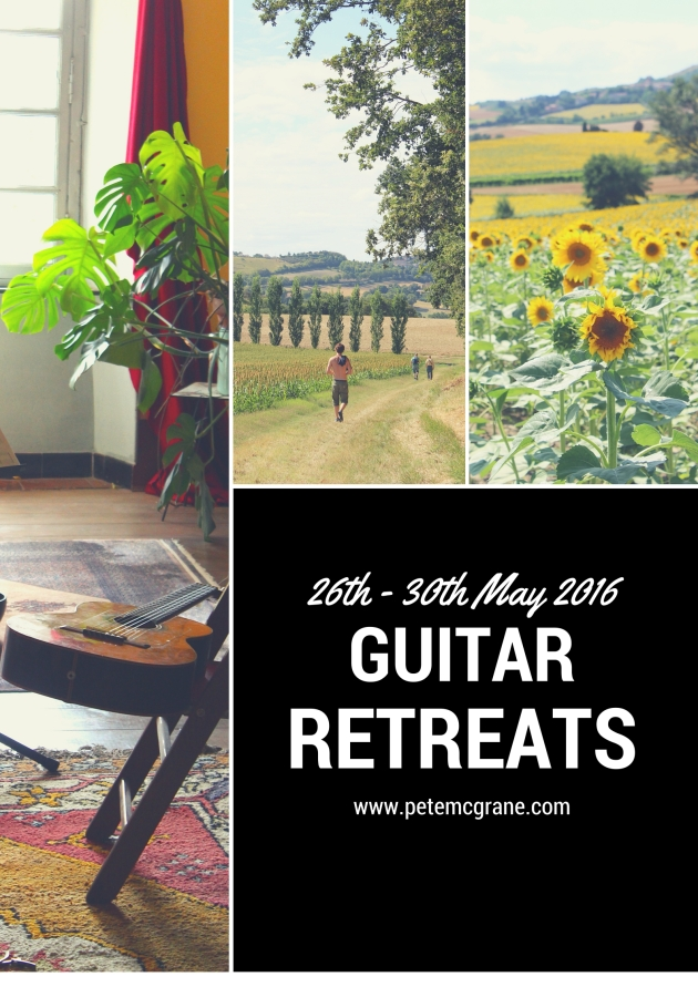 Pete McGrane Guitar Retreats
